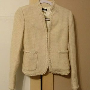 J. Crew creme blazer